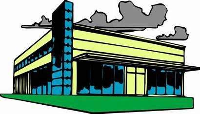 Estate Commercial Clip Clipart Clker Svg Domain
