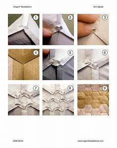 Double Pleat Hexagon Tessellation Instructions  Available