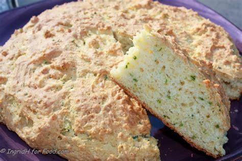 australian cheese garlic  chive damper recipe cheese