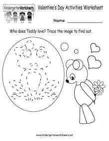 HD wallpapers valentine s day kindergarten worksheets
