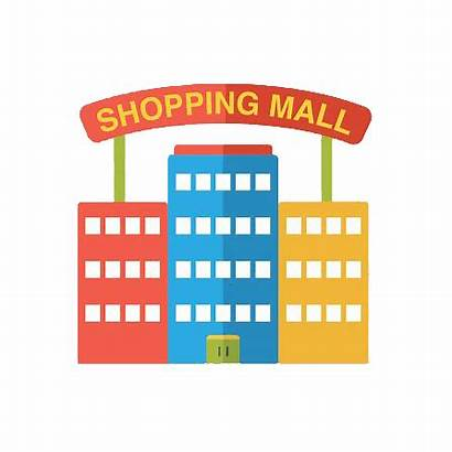 Mall Shopping Clipart Malls Distancing Social Icon