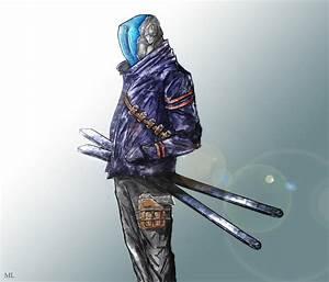 Futuristic Ninja Concept - Kenshi by MattzProductionz on ...