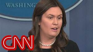 Sarah Sanders responds to EPA barring reporters - YouTube