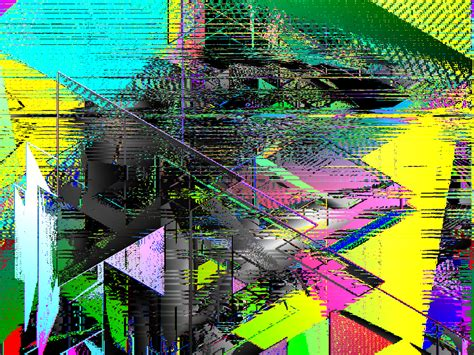cool examples  glitch art inspirationfeed