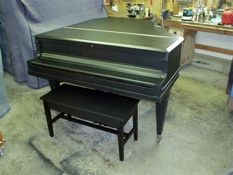 refinish kitchen cabinet knabe baby grand piano dunkley 1803