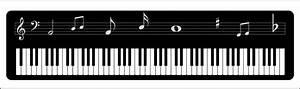 Clipart - Piano Keyboard