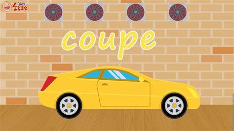 Cartoon Cars Body Types For