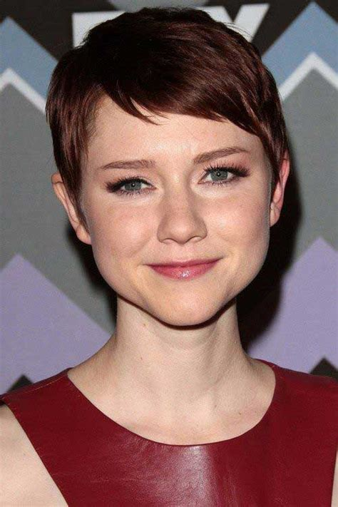 popular celebs with pixie cuts short hairstyles 2018