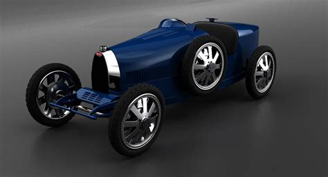 Despite its italian owner, bugatti was a company based in france. Bugatti Type 35 'Baby' Returns With A Modern Twist And € ...