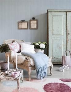 Shabby Look Wohnzimmer : feminine shabby chic nook ideas for your home ~ Frokenaadalensverden.com Haus und Dekorationen