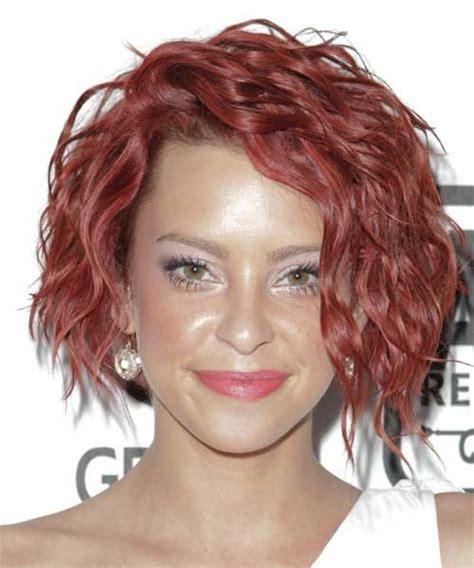 burgundy wavy hair casual newhairstylesformen2014 com