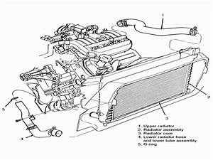 2000 Ford Taurus Radiator Diagram