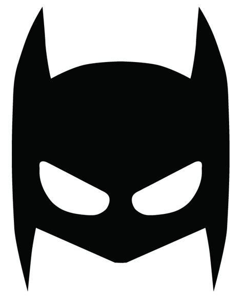 Batman Mask Template by Superheroes Masks On Behance