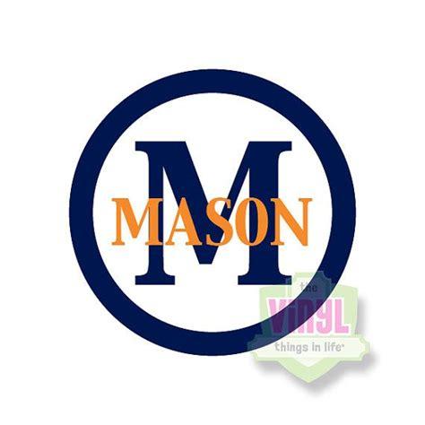 boy decal boy monogram sticker block monogram personalized sticker  boys masculine