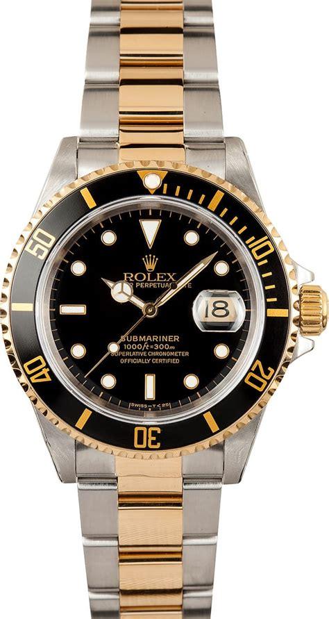 Rolex Submariner Steel & 18K Gold 16613T