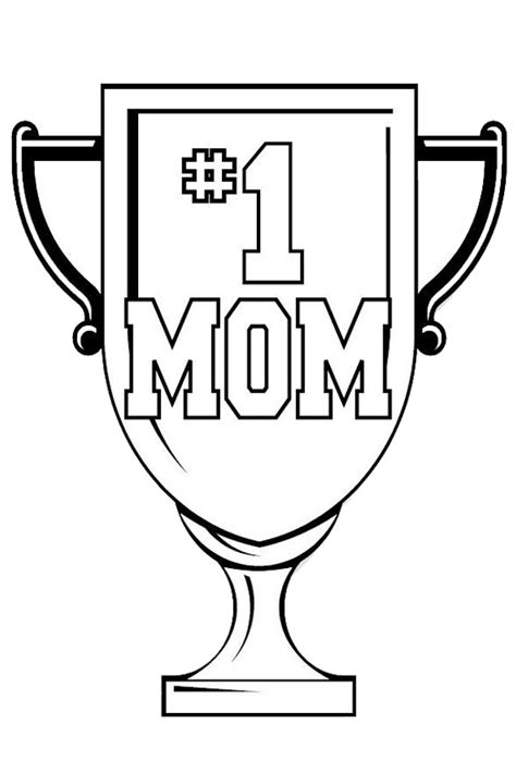 mother day coloring pages    print