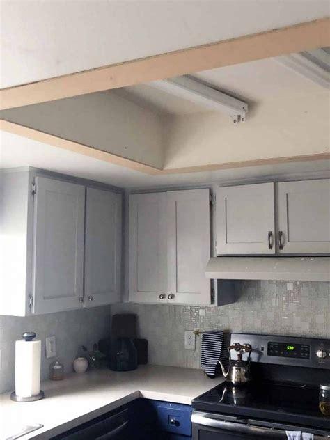 How to update old kitchen lights recessedlightingcom via recessedlighting.com. Replace Your Dated Lightbox   Fluorescent kitchen lights, Kitchen ceiling lights, Kitchen ...