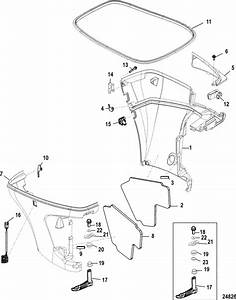 90 Hp 4 Stroke Mercury Outboard Diagram  90  Free Engine