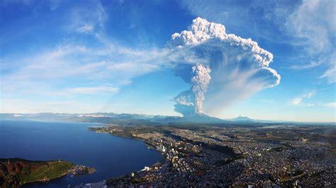 Calbuco Volcano Eruption Chile 4k Ultra Hd Desktop Wallpaper