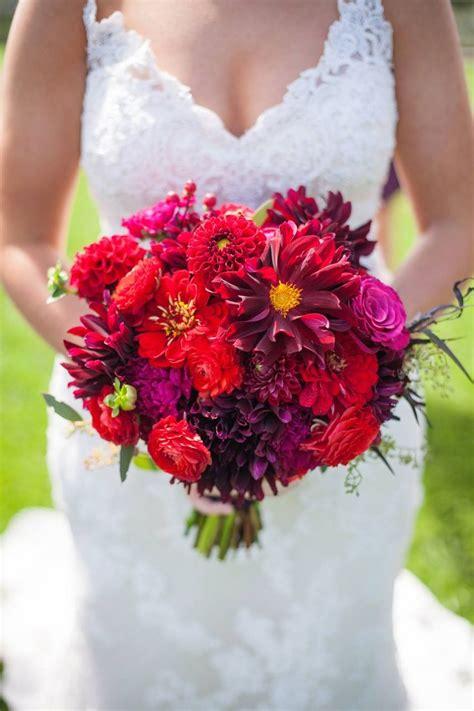 Dahlias Zinnias Ranunculus Roses Spray Roses Bridal