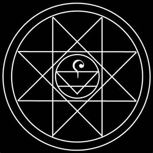 Using early alchemical symbols for creation and earth is ...