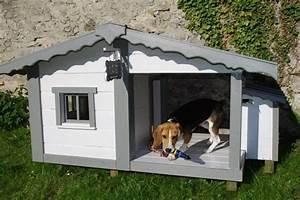 Niche Pour Chien Avec Terrasse : niche pour chien animeaux pour mes chiens pinterest ~ Dailycaller-alerts.com Idées de Décoration
