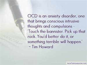 Quotes About Oc... Ocd And Anxiety Quotes