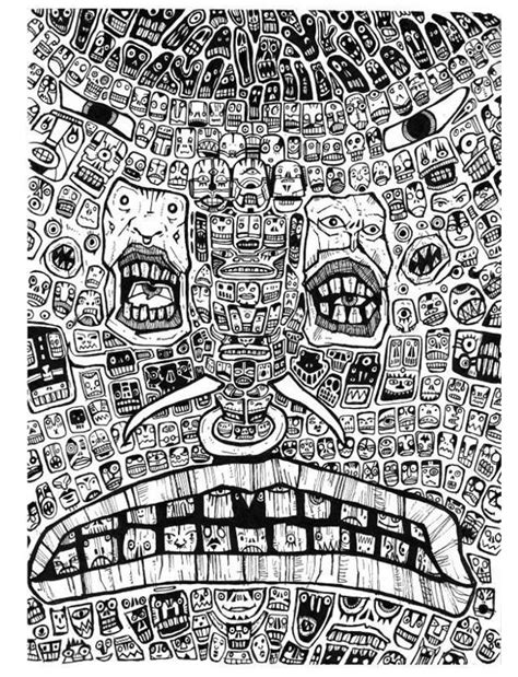 doodle drawings surreal visions
