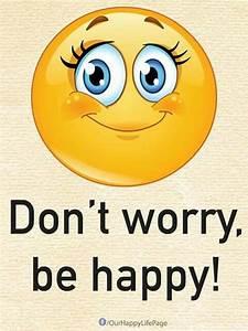 Be Happy | Emot... Funny Emoticon Quotes