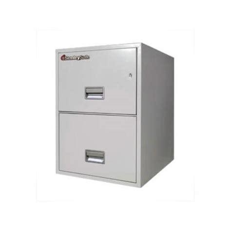 Safe File Cabinet 2 Drawer by Sentrysafe 102l Vertical 2 Drawer File Filing