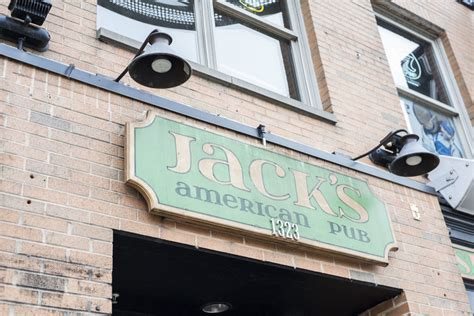 To lift some spirits and fill some. Jack's American Pub - party