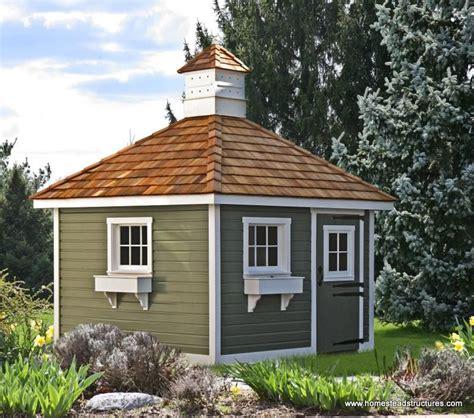 german shed 10 x 10 classic hip garden shed german pine siding