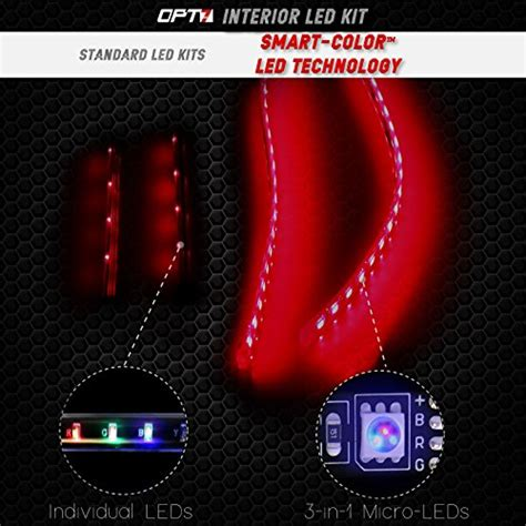Opt7 Led Boat Lights by Opt7 Boat Interior Glow Led Lighting Kit Multi Color
