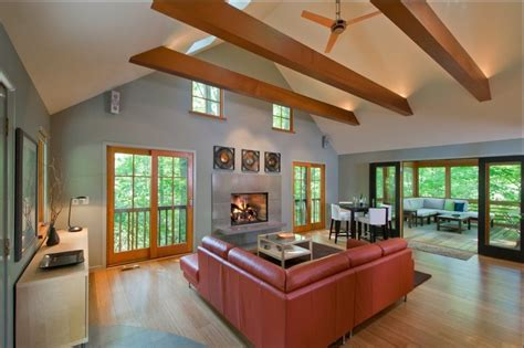 artistic faux ceiling beams amazing ideas with fake skylight