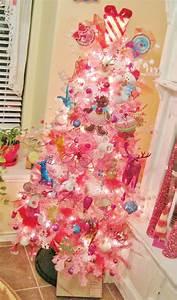 DIY Pink Christmas Trees