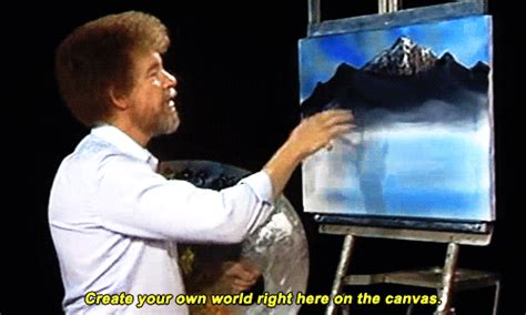 Mine Bob Ross The Joy Of Painting 4x03 I Haven't Made Gifs
