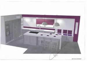 agencer sa cuisine plan cuisine en l comment agencer sa cuisine plan cuisine moderne ilot peninsule with plan