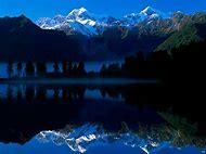 Mount Cook New Zealand Lake Matheson Wallpaper