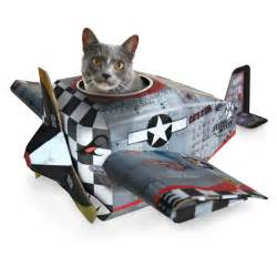 cat on a plane cardboard cat playhouses engine airplane and tank