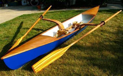 sculling skiff recreational rowing shell boatdesign