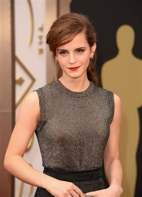 Emma Watson Pictures Arrivals The Annual Academy