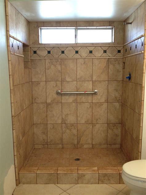 tiled shower stalls  gallery custom