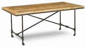 Captivating Industrial Dining Table On Wheels Bar Height