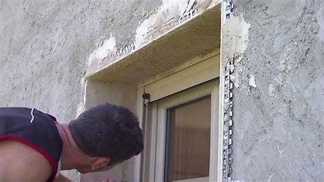 enduit facade tableaux fenetre  porte youtube