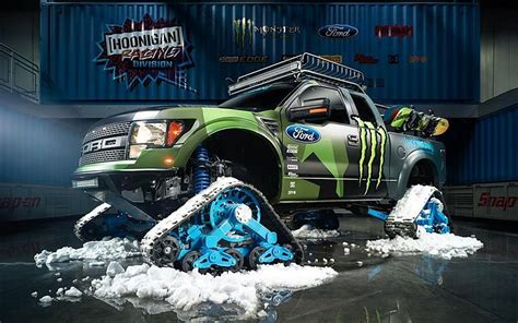 2014 Ken Block Ford F-150 Fond D Raptortrax Fonds D'écran
