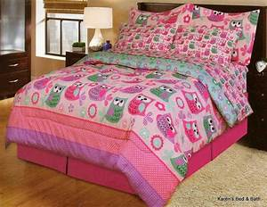 Little, Girls, Bedding, Sets, For, Queen, Bed, With, Owls