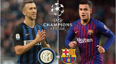 Barcelona vs Inter Milan | Inter milan, Champions league ...