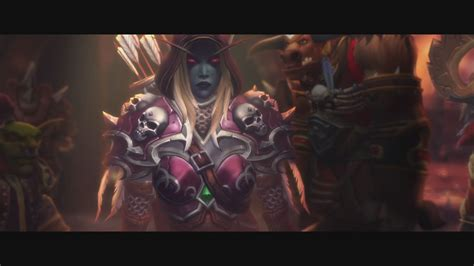 Sylvanas Animated Wallpaper - legion sylvanas and vol jin cinematic