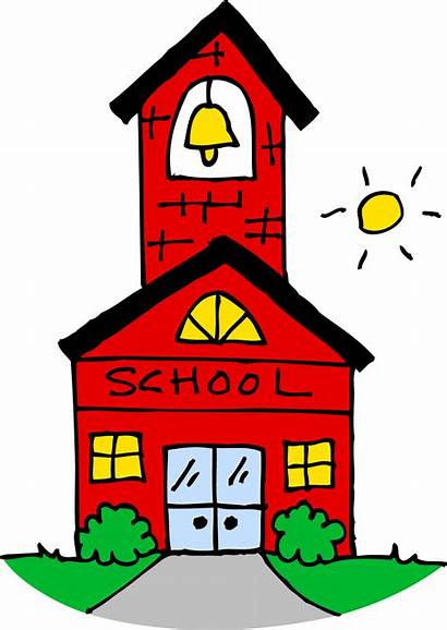 Clipart Schoolhouse Building Clipground Cliparts