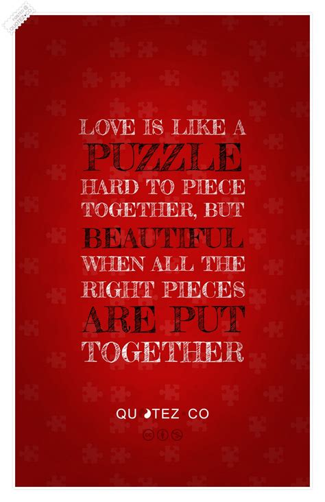 love    puzzle love quote quotez